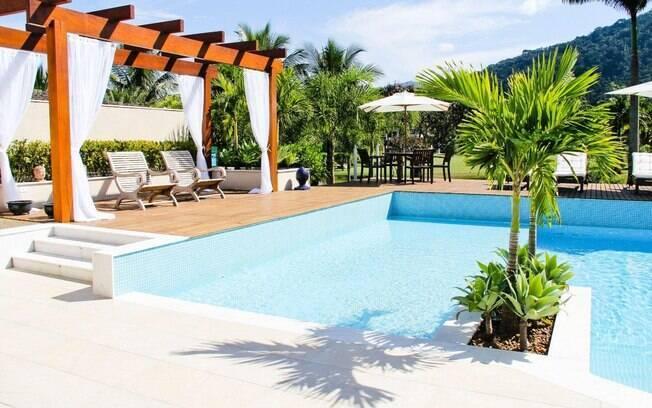 Piscinas para se refrescar no calor arquitetura ig for Plantas para piscinas