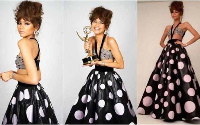 O incrível vestido de Zendaya casou perfeitamente com sua conquista histórica no Emmy 2020