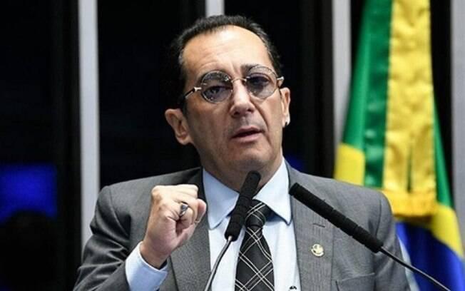 Senador Jorge Kajuru bateu de frente com o ministro Gilmar Mendes, do Supremo Tribunal Federal: 'bandido e canalha'