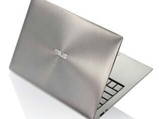 Asus, com UX21, será uma das primeiras empresas a levar ultrabooks para o mercado