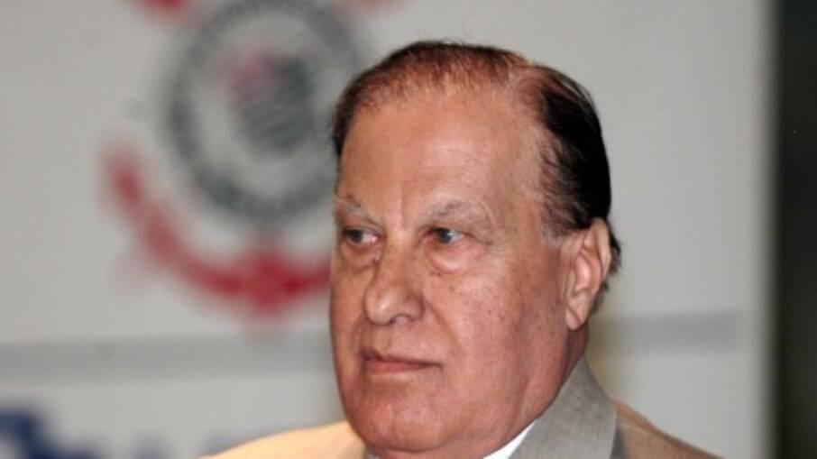 Alberto Dualib, ex-presidente do Corinthians