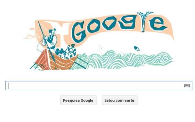 Moby Dick ganha doodle para comemorar 161 anos desde sua publicação