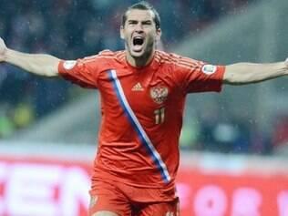 Kerzhakov é o único atleta da Rússia na lista final que já participou de uma Copa do Mundo