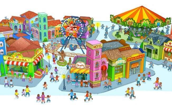 Veja como será o novo Parque da Mônica, no shopping SP Mrket