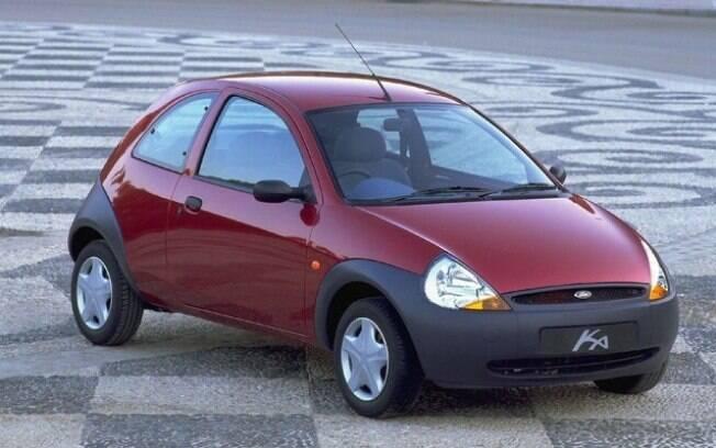 A primeira versão do Ford Ka trazia um visual inovador e teve relativo sucesso, especialmente na Europa