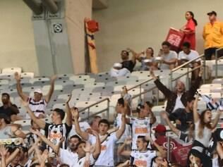 No Independência - que transmitiu o jogo -, atleticanos também provocaram os rivais
