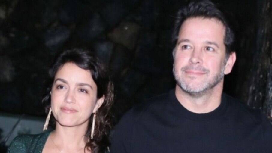 Manuela Dias e Murilo Benício