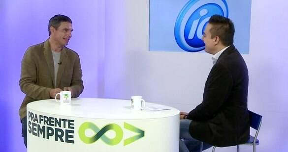 Olivier Anquier conta sua trajetória empreendedora ao Pra Frente Sempre