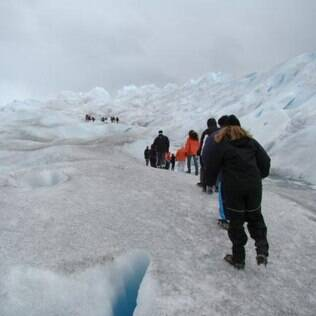 Minitrekking sobre o Perito Moreno