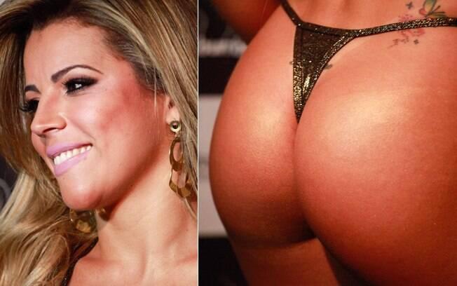 Rosana Ferreira, de 25 anos, foi coroada Miss Bumbum