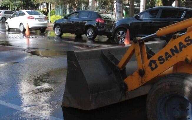 Obras da Sanasa cortam água de 15 bairros nesta quarta
