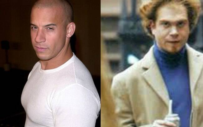 Vin Diesel e Paul Vincent: gêmeos nada parecidos