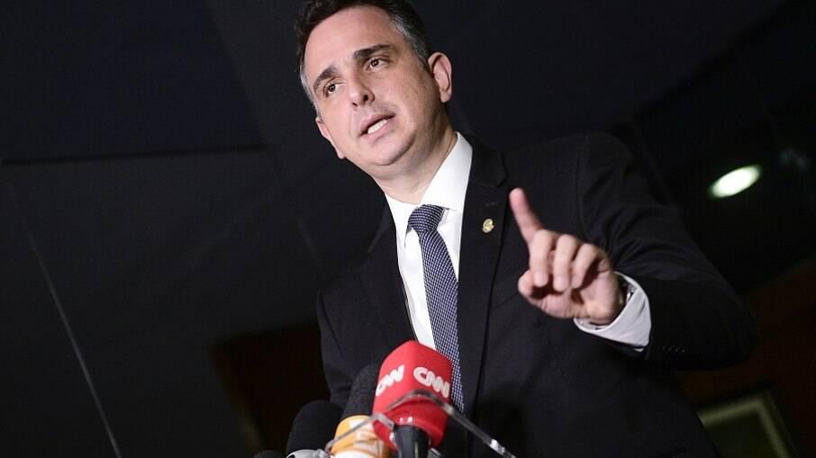 Rodrigo Pacheco (DEM-MG), presidente do Senado