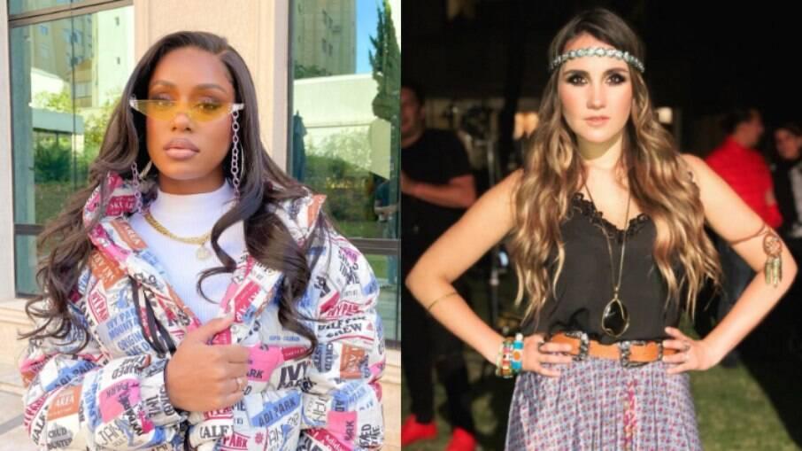 MC Rebecca comemora ao ver sua música na playlist de funk da ex-RBD Dulce María
