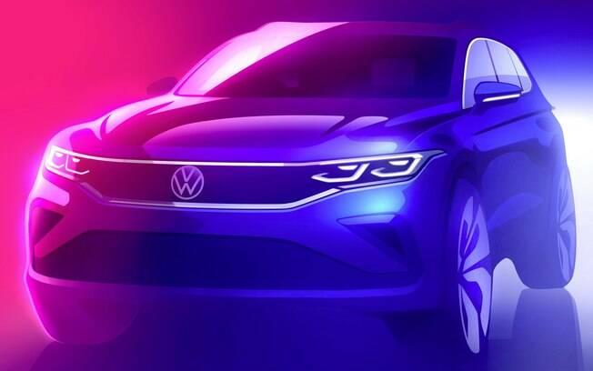Nova Volkswagen Tiguan virá com os equipamentos de nova geração da marca, que visam maior conectividade e eficiência