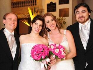 Bia no casamento duplo: escolha cuidadosa de fornecedores