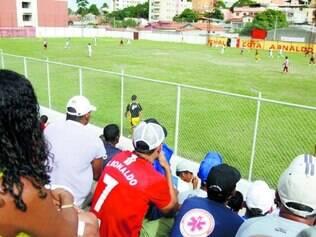 Campo do Frigoarnaldo.    Estádio receberá as duas decisões neste domingo (16), a partir das 8h40