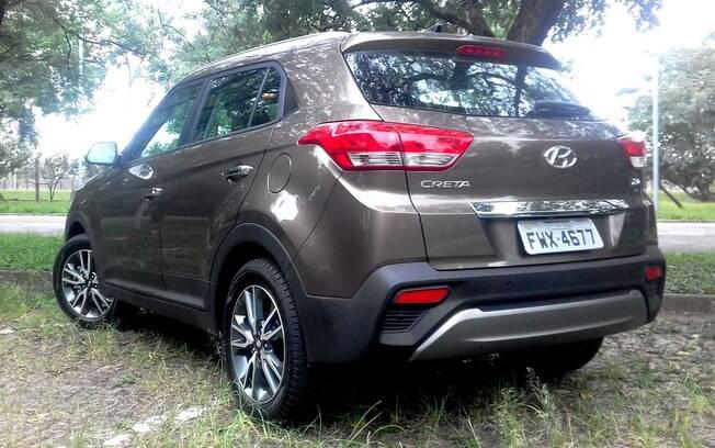 Hyundai Creta segue o estilo adotado nos novos SUVs da marca coreana, com desenho bem resolvido