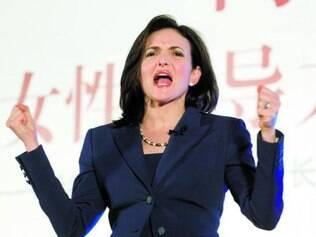 Sheryl Sandberg, do Facebook, defesa da presença das mulheres