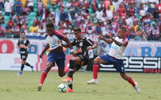Corinthians e Bahia se enfrentaram na estreia do Brasileirão 2019