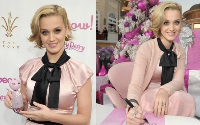 A cantora falou sobre o Brasil no lançamento de sua nova fragrância