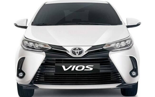 Toyota Yaris: no mercado asiático, o compacto chama-se Vios e já recebeu as mudanças que serão adotadas no Brasil em 2021