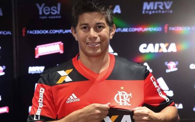 Conca deixou o Shanghai SIPG para se juntar ao Flamengo em 2017