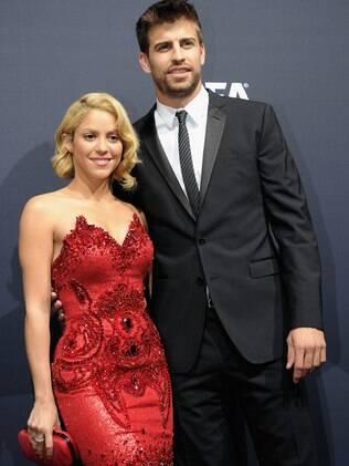 Shakira e Piqué: colados!