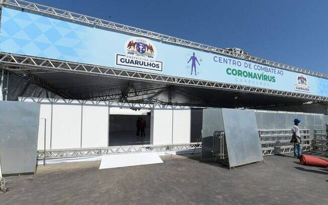 Centro de Combate ao Coronavírus - Guarulhos