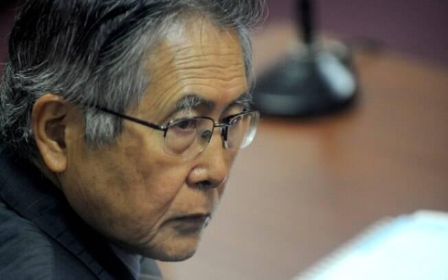 Alberto Fujimori voltou à prisão após receber alta