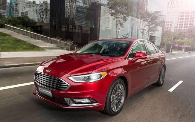 Mais barato do que os alemães, o Ford Fusion tem grande vantagem nas vendas