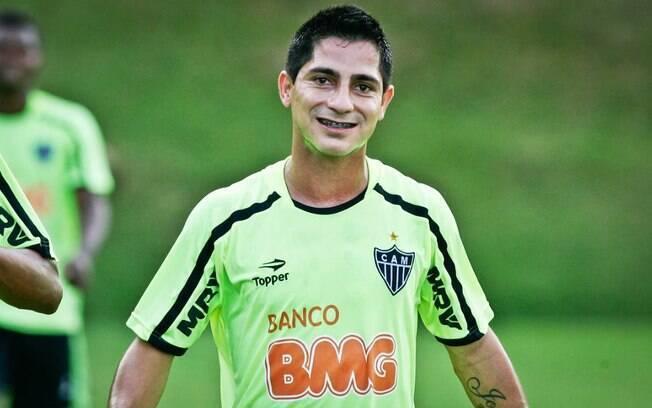 Danilinho na época de Atlético-MG