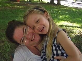 Raquel e a filha: