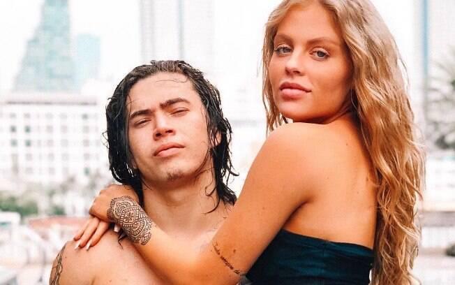 Luísa Sonza e Whindersson Nunes se posicionam sobre foto íntima