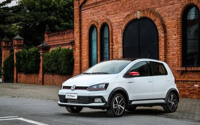 Volkswagen Fox Pepper: com motor do modelo convencional, a versão se enquadra entre os esportivos de adesivo