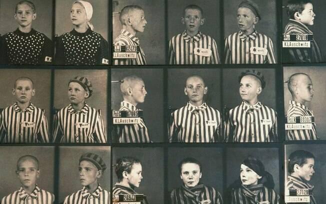 As crianças de Auschwitz também eram catalogadas e separadas de acordo com a origem