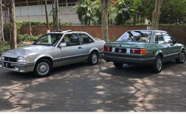 Apollo e Verona são símbolos da união entre Ford e Volkswagen, em 1989
