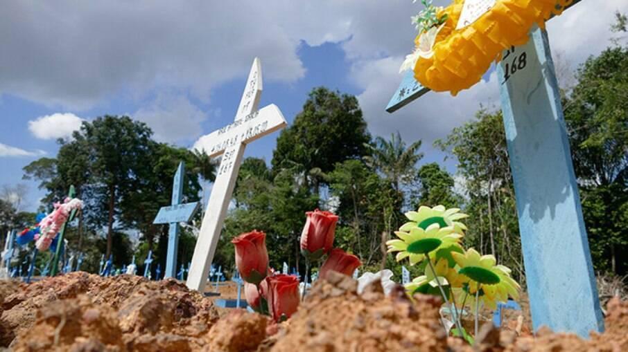 Brasil registra pico de mortes por Covid-19