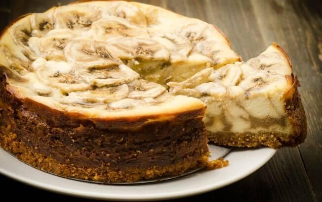 Caramelo e bolo de banana, existe uma combinação mais deliciosa?
