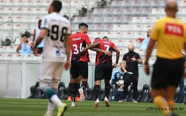 Gol do Athletico-PR