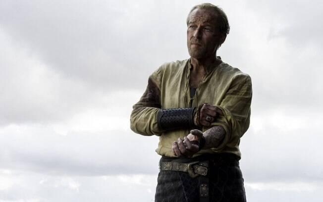 Em Game Of Thrones, Iain Glen interpreta o personagem Jorah Mormont