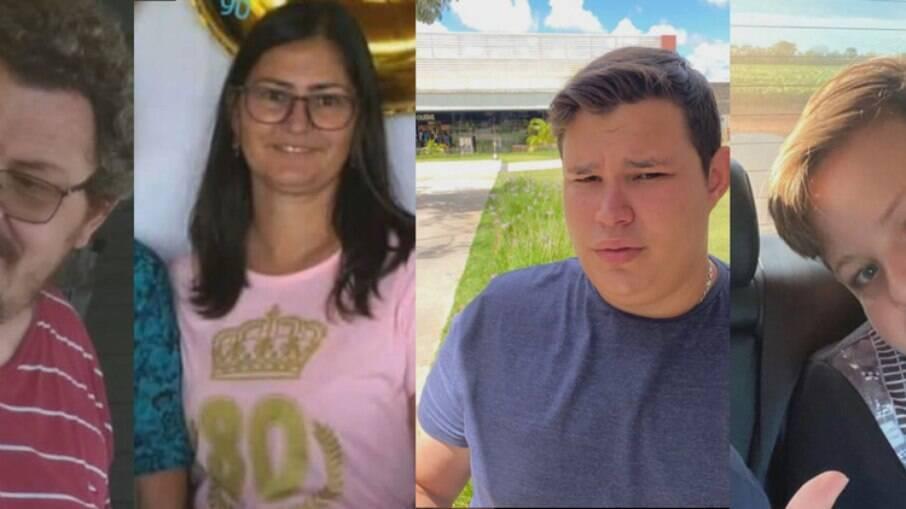 Família foi morta por Lázaro Barbosa em Ceilândia, no DF