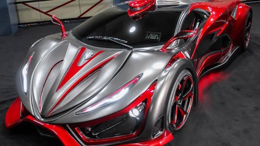 Mastretta Inferno possui um V8 de 1.400 cv!