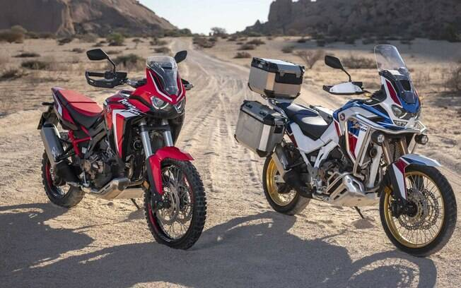 Honda CRF 1100L Africa Twin a moto com apelo aventureiro  chegará para concorrer BMW GS1200 e companhia