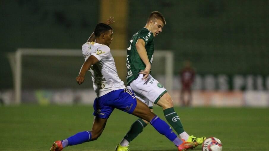 Guarani empatou com o Cruzeiro no Brinco de Ouro.