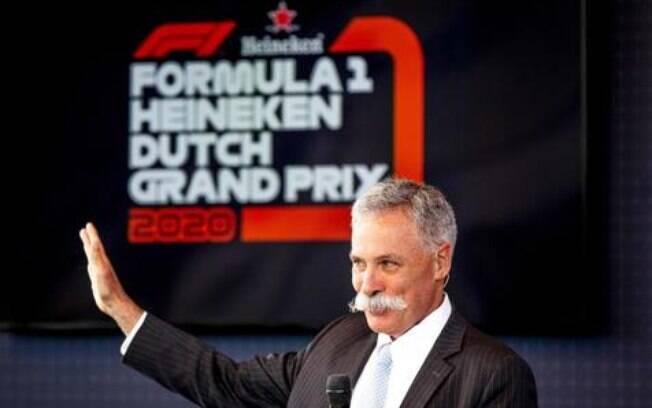 Chase Carey é o chefe da Formula One Management (FOM) e garantiu a permanência do GP do Brasil 2020 em São Paulo