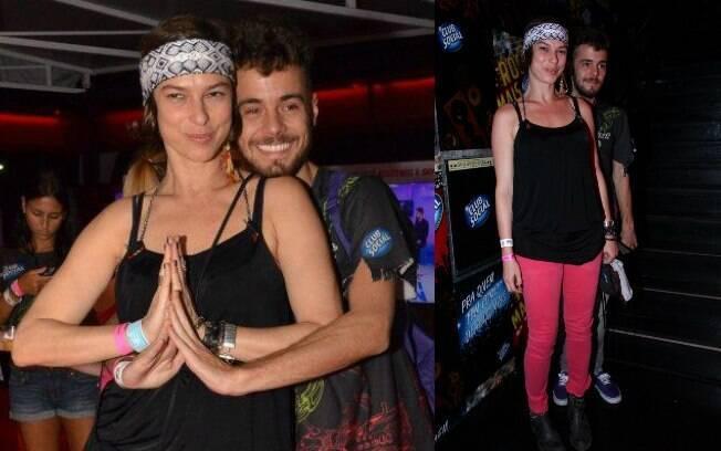 19 ANOS: Aos 42 anos, Maria Paula namora Victor Valansi, de 23