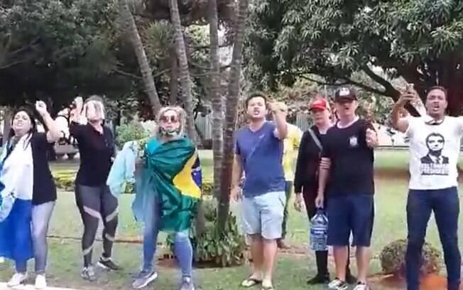 Vídeo de agressão foi publicado nas redes