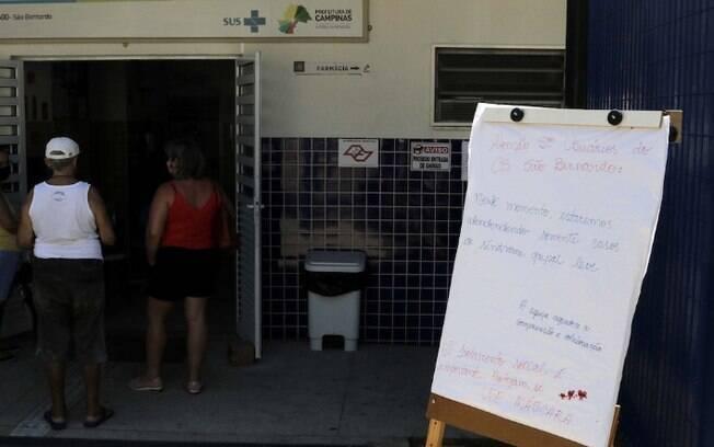 Campinas abre 3 Centros de Saúde no feriado e fim de semana