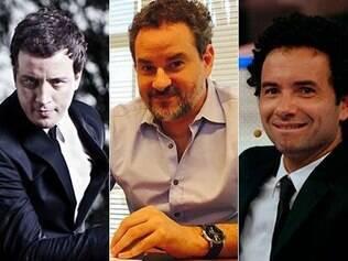 Rafael Cortez, Dan Stulbach e Marco Luque estão na bancada oficial da 8ª temporada do